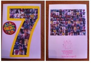 Callum 7th birthday card