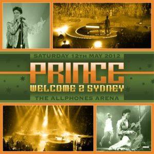 prince sydney tour