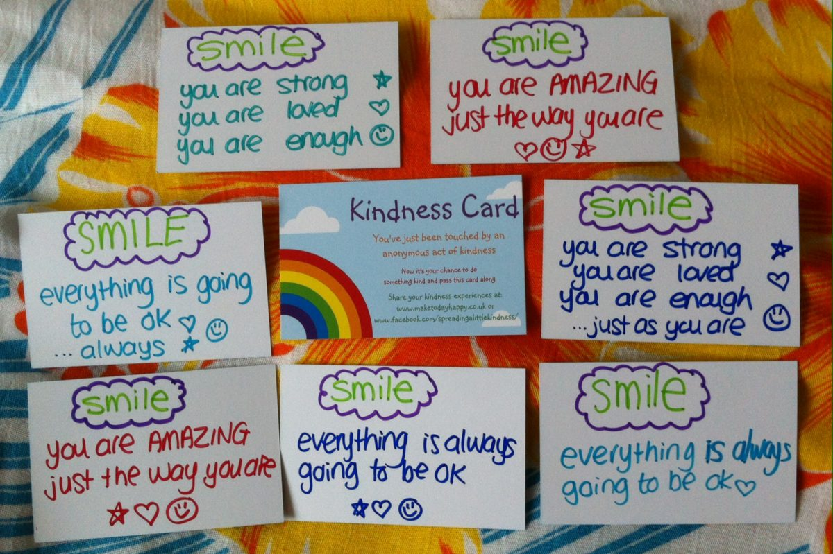 Act of kindness #19: Library book messages