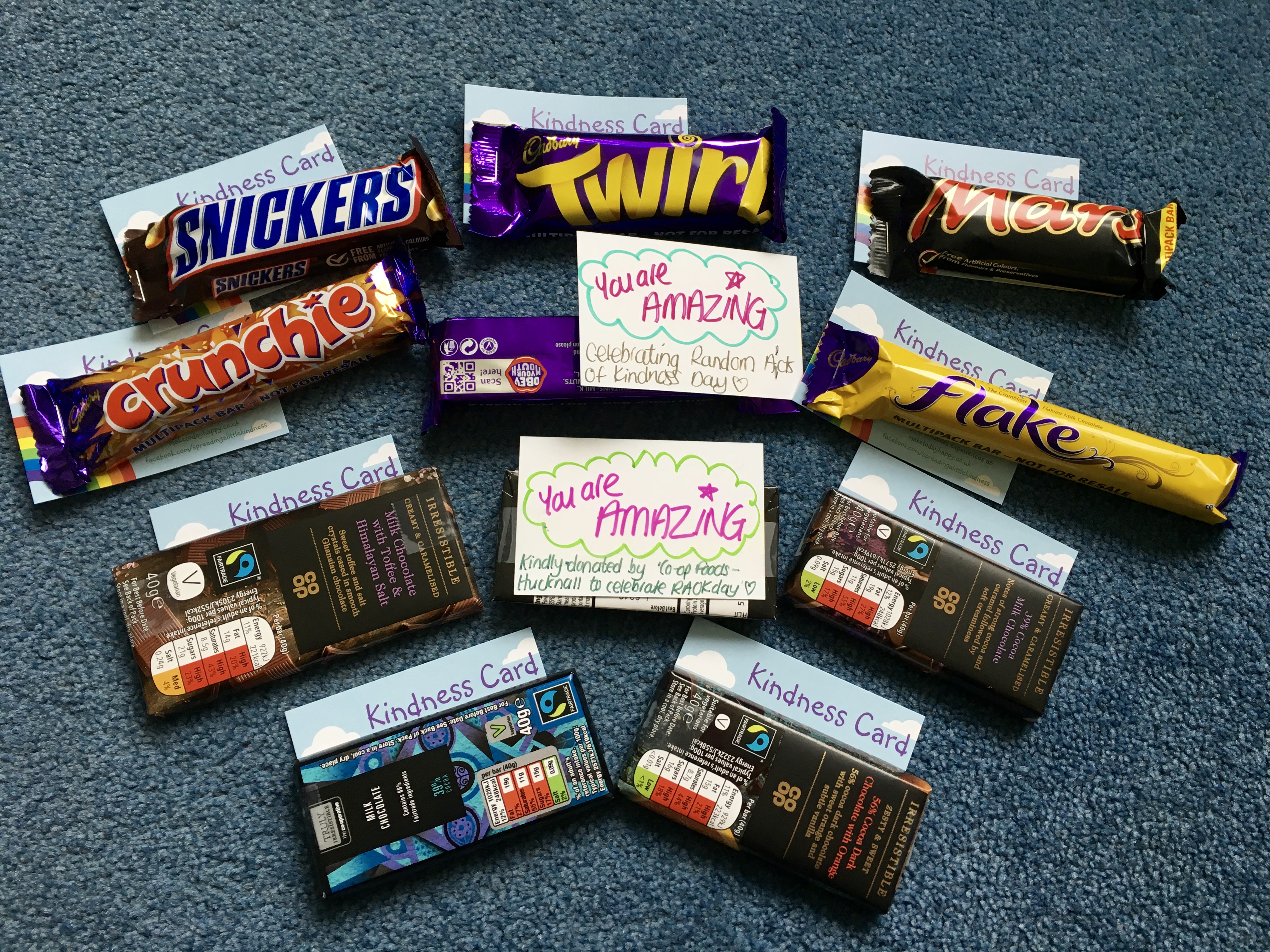 Chocs with cards attached.jpg