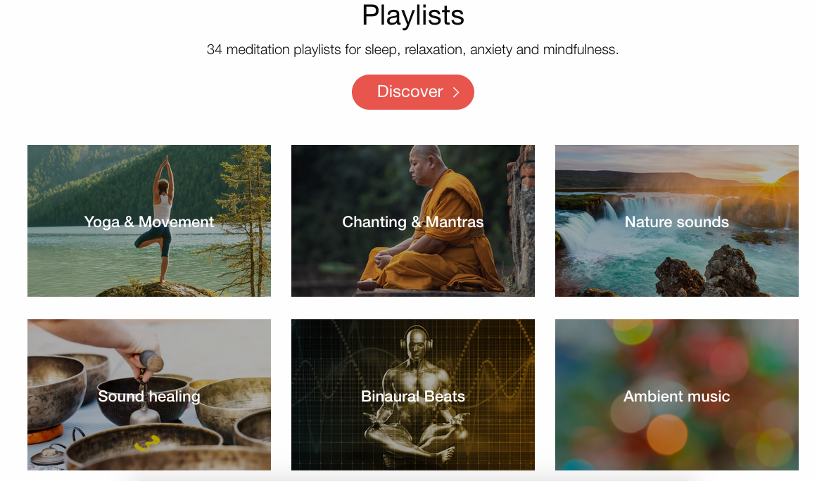 Insight Timer playlists