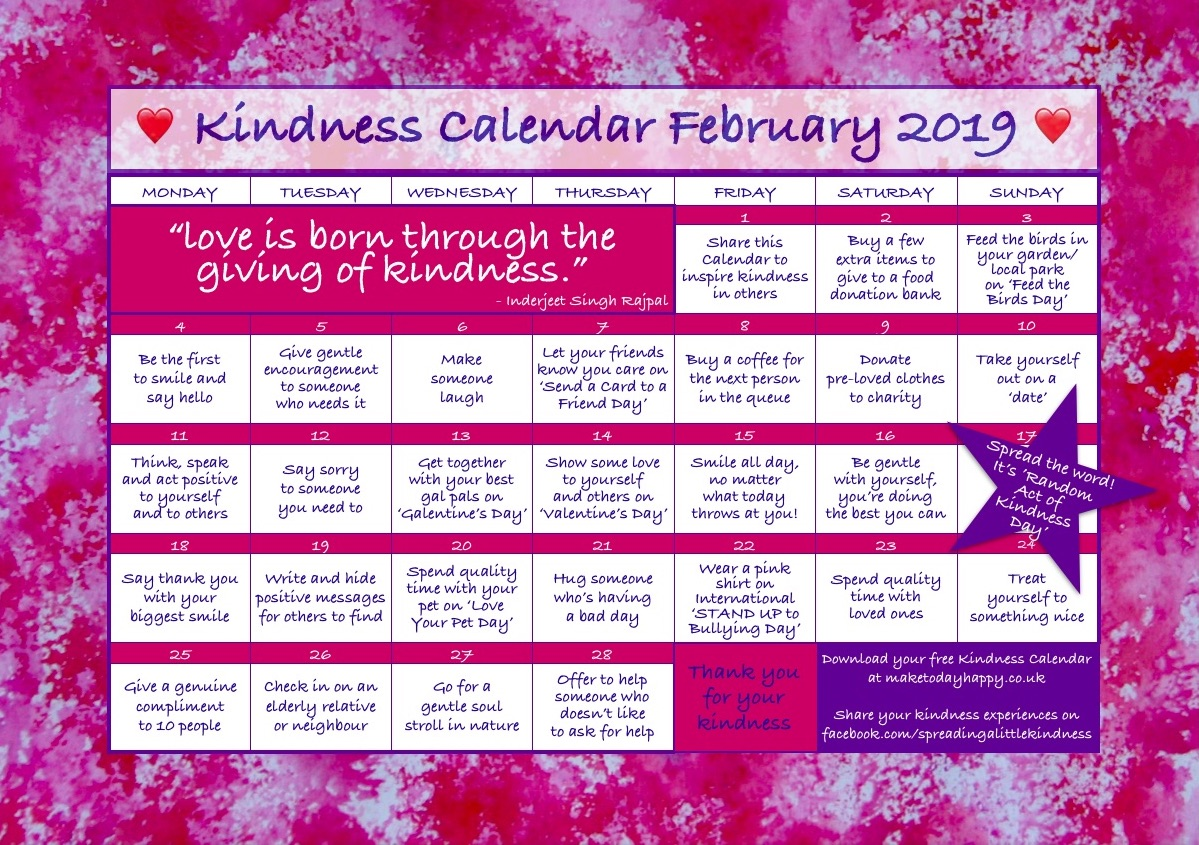 Kindness Calendar February 2019 .jpg