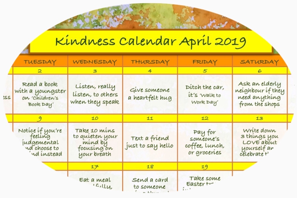 April Kindness Calendar April 2019 Circle.jpg